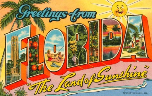 Welcome-To-Florida-Postcard